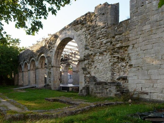 Roma kloster Gotland Pilgrimsvandra
