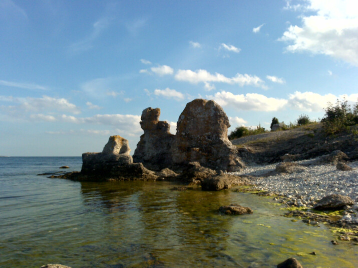 St: Olofsholm Pilgrimsled Gotland