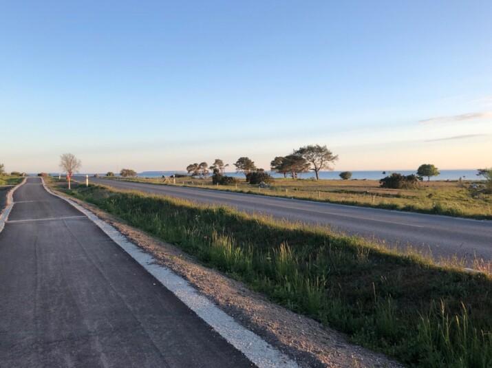 cykelbana Gotland Västergarn